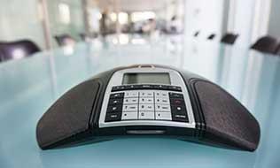 Telefonkonferenz durch Telefonanlage
