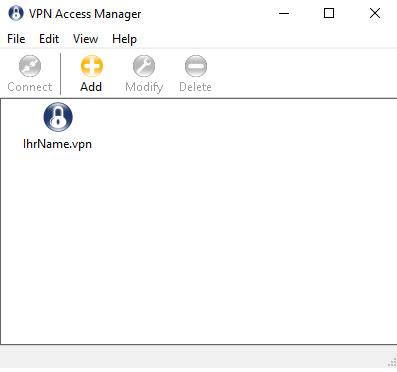 VPN Datei