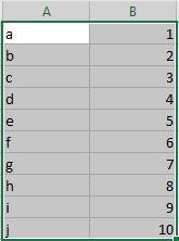 Excel Tabelle für Word