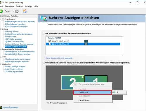 Windows 10/8/7 Bildschirm duplizieren