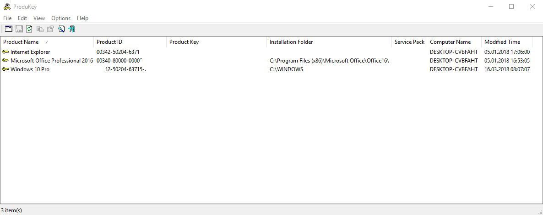 Wir zeigen Ihnen, wie Sie Ihr Microsoft Windows Key auslesen